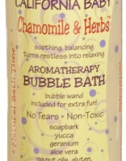 California Baby Bubble Bath - Chamomile & Herbs, 13 oz