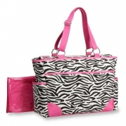 Carter's Fashion Tote Bag, Zebra Print