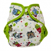 Best Bottom Cloth Diapers - Snap - Hoot