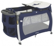 Joovy Room Playard with Bassinet and Changing Table, Blueberry