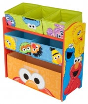 Delta Children's Products Sesame Street Multi Bin Organ