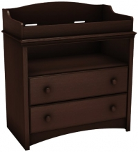South Shore Angel Changing Table, Espresso