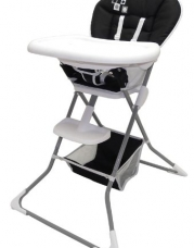 Dream On Me Dinah High Chair in Black