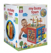 ALEX® Toys - Alex Jr. My Busy Town -Baby Wooden Developmental Toy  4W