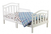 Dream On Me Elora Collection Toddler Bed, White