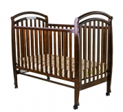 Dream On Me Bentwood Tuscany 3 in 1 Convertible Crib, Espresso