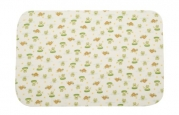 Carter's Keep Me Dry Flannel Bassinet Pad, Lily Pad Frog