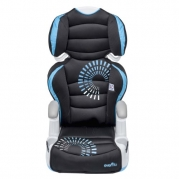 Evenflo Amp High Back Booster Car Seat, Sprocket