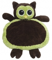 Mary Meyer Bestever Baby Mat, Green Owl