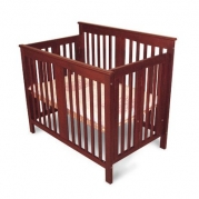 Foldable Mini Crib Finish: Espresso