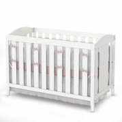 South Shore Crib and Toddler Bed, Pure White