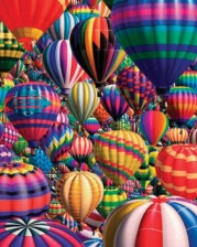 Hot Air Balloons 1000 PC Jigsaw Puzzle by White Mountain