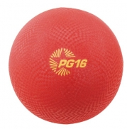Champion Sports Playground Ball (Red, 8.5-Inch)