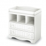 South Shore Savannah Collection Changing Table, Pure White