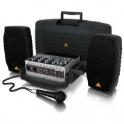 Behringer EUROPORT EPA150 Ultra-Compact 150-Watt 5-Channel Portable PA System with Digital Effects and FBQ Feedback Detection