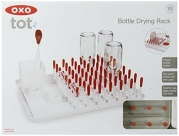 OXO Tot Bottle and Accessories Drying Rack- Orange