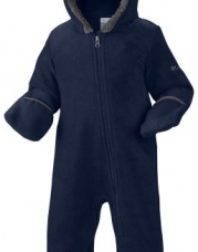 Columbia Baby Boys' Infant Tiny Bear II Bunting, Collegiate Navy, 18/24 Months