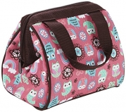 Fit & Fresh Kids Riley Insulated Lunch Bag, Rainbow Owl