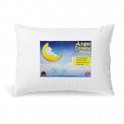 Toddler Pillow 13 x 18 - Soft Hypoallergenic Pillows for Kids. Made in USA.
