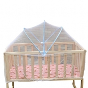 Voberry® Baby Cradle Bed Mosquito Nets Summer Baby Safe Arched Mosquitos Net