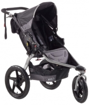BOB Revolution SE Single Stroller, Black