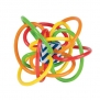 Manhattan Toy Winkel Color Burst Rattle and Sensory Teether Activity Toy
