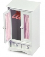 Badger Basket Doll Armoire with Hangers