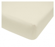 American Baby Company Organic Cotton Interlock Crib Sheet, Natural