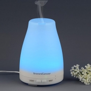 InnoGear® 100ml Aromatherapy Essential Oil Diffuser Portable Ultrasonic Cool Mist Aroma Humidifier with Color LED Lights Changing and Waterless Auto Shut-off Function for Home Office Bedroom Room