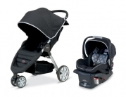 Britax B-Agile and B-Safe Travel System, Black