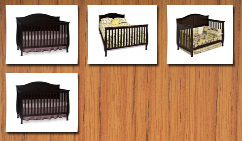 childcraft cribs one size jamocha. Black Bedroom Furniture Sets. Home Design Ideas