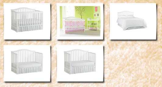 Lajobi Inc 5030935 Cribs