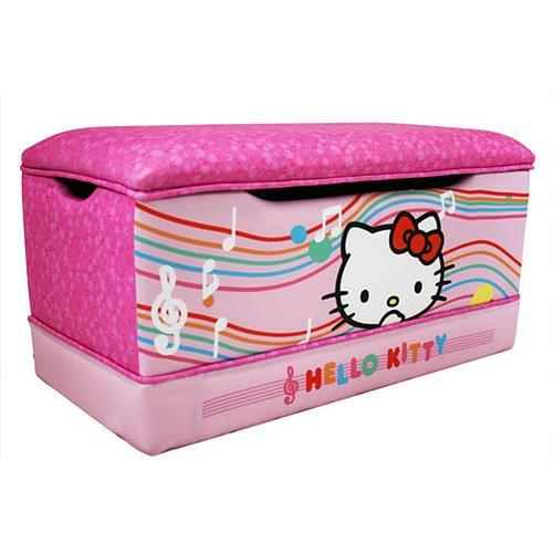 Hello Kitty Toy Bin : Hello kitty deluxe toy box harmony kids
