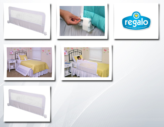 Regalo Swing Down Bedrail White Regalo Regalo 2020