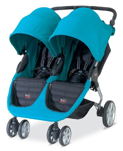 britax b agile double stroller peacock britax usa britax u361825. Black Bedroom Furniture Sets. Home Design Ideas