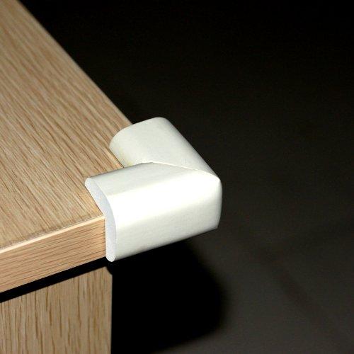 Ostart 8 White Baby Furniture Corner Safety Bumper