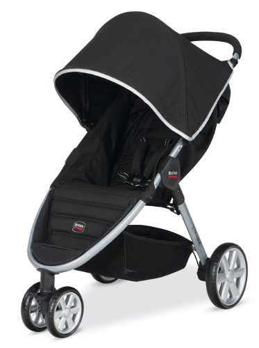 britax 2014 b agile stroller black britax usa britax u451835. Black Bedroom Furniture Sets. Home Design Ideas