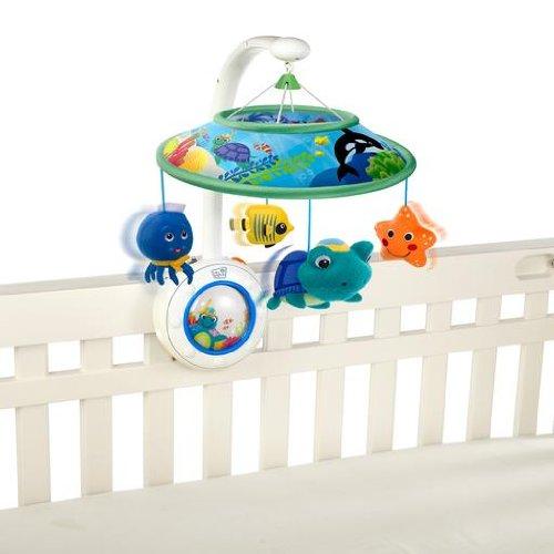 Peacock Baby Einstein Crib Toy : Baby einstein crib sea soother at
