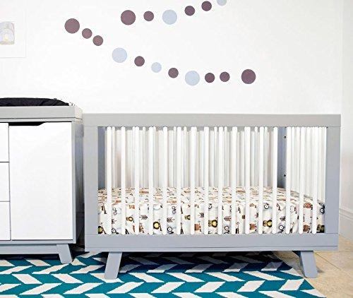 Babyletto Hudson Crib And Dresser Changer bo Grey