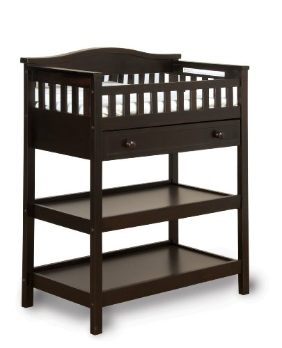 Childcraft nursery one size jamocha for Child craft changing table
