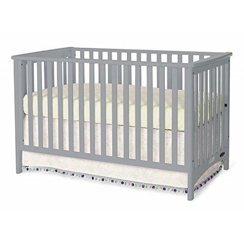 Childcraft London Euro Crib Grey Childcraft